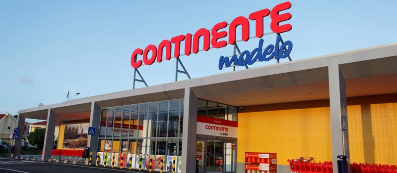 supermercado Continente em Portugal