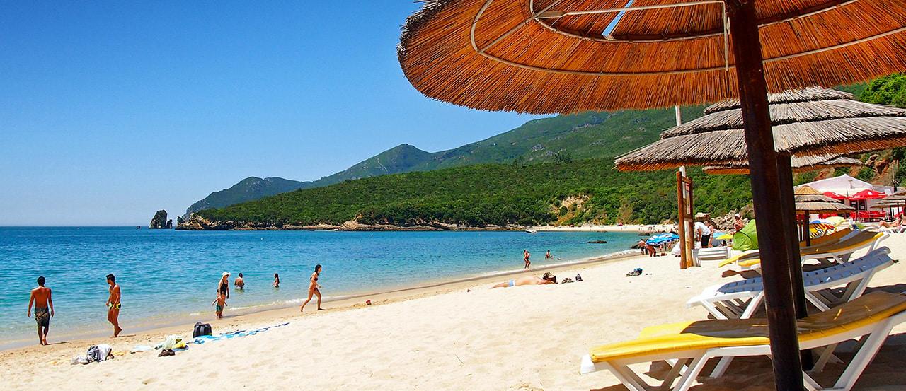 Praia de Galapos - nacionalidade portuguesa