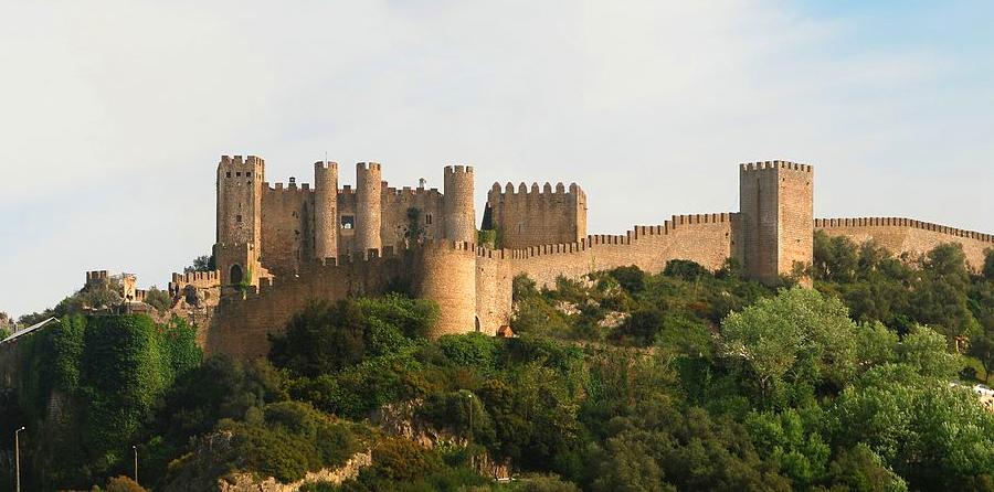 Castelo de Óbidos - nacionalidade portuguesa