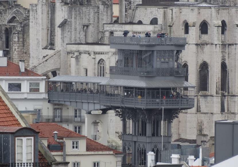 miradouro elevador santa justa - nacionalidade portuguesa