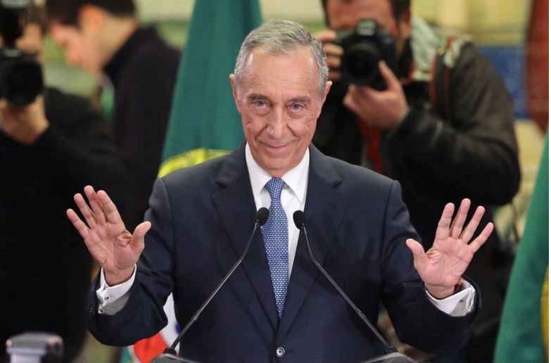 Presidente Marcelo de Portugal