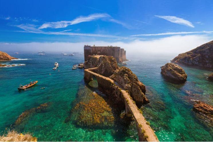 Forte das Berlengas - Lugares para conhecer em Portugal