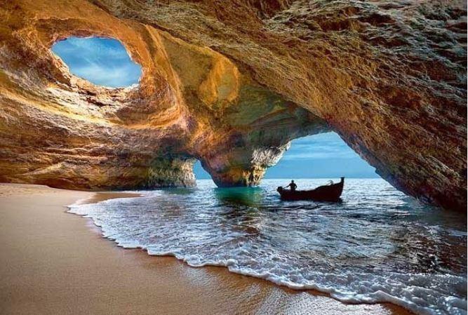 grutas de benagil - nacionalidade portuguesa