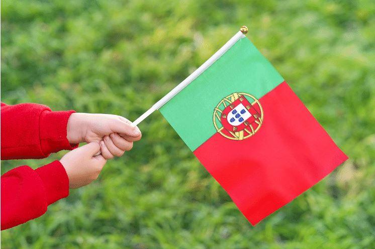 alteração da lei da nacionalidade portuguesa - criança com bandeira de portugal