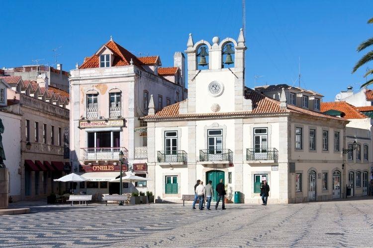centro histórico cascais