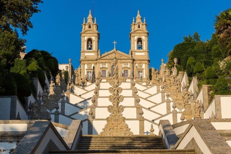 Braga em Portugal - Santuário Bom Jesus
