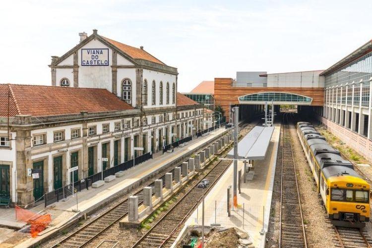 Viana do Castelo - estação de comboio