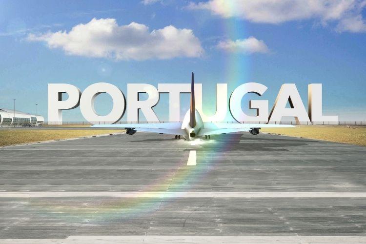 passagem aérea para portugal
